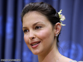 Ashley Judd appears in an environmental ad campaign for the Defenders of Wildlife Action Fund.