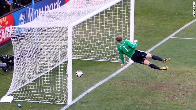 The goal that changed everything: England's Frank Lampard was denied a clear score during a 2010 World Cup match vs. Germany. FIFA has since acknowledged the referee blunder and will introduce computerized help to aid officials at this year's World Cup.