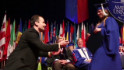 Thumbnail for Graduate gets a diploma and a diamond - CNN.com Video