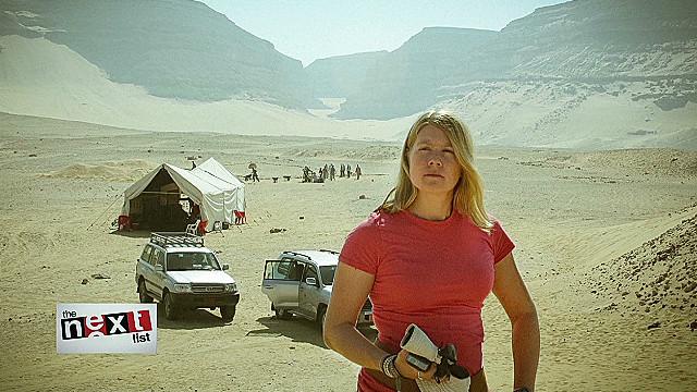 """La """"Indiana Jones"""" de la vida real descubre ruinas egipcias desde ..."""