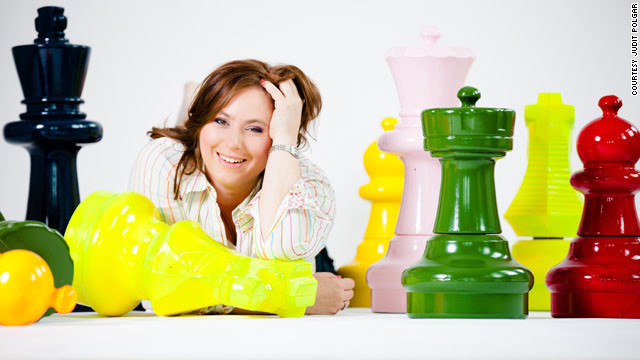 Judit Polgar has been ranked as the world's number one female chess player for 23 years.