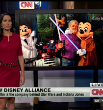 Thumbnail for Disney and Lucasfilm in blockbuster deal - CNN.com Video