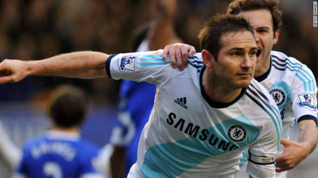 Chelsea's Frank Lampard was again involved in controversy after he was awarded a goal against Tottenham Hotspur in a 2011 Premier League match. Replays showed Spurs goalkeeper Heurelho Gomes had actually stopped the ball from crossing the line. The Premier League has since adopted goal-line technology.