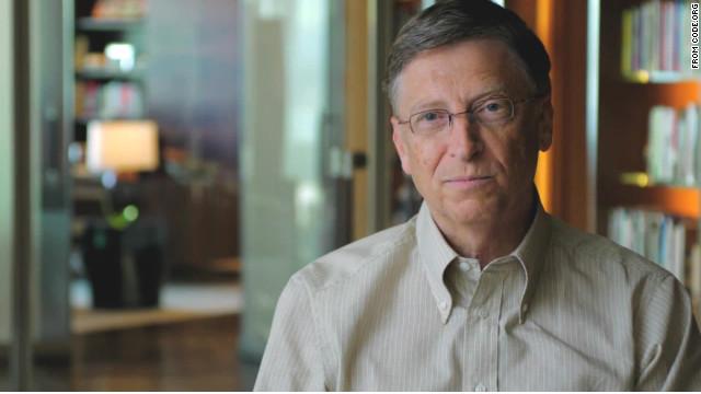 Code.org Bill Gates