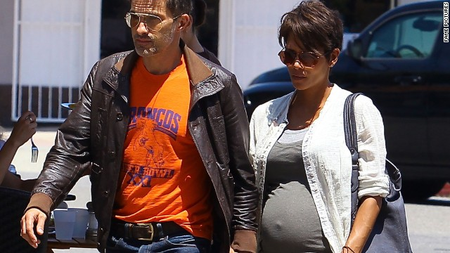 It's a boy! Halle Berry and husband welcome newborn son