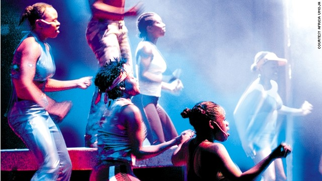 """Musical genres explored by Umoja include jazz, tribal sounds and urban """"Kwaito"""" music."""