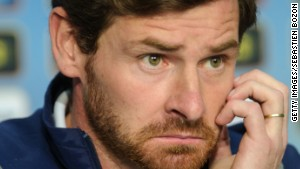 Favorite Redhead No. 2: André Villas-Boas proves that even ginger ninjas get the blues.