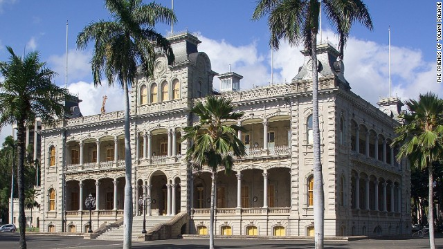 The royal Hawaiian abode was rigged out with 19th-century technological luxuries such as electric lighting -- installed in 1887, four years before the White House got hooked up.