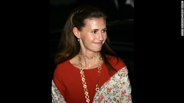 Al-Assad smiles as she leaves the Istanbul Modern Museum ...