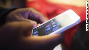 The iPhone 5\'s screen is 4 inches across. Future iPhones may be bigger.