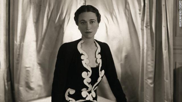 Wallis SImpson photographed by Cecil Beaton