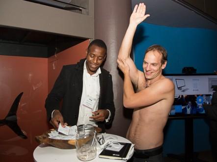 To use DryBath, you need to put and rub the gel onto your skin. - (Courtesy Ludwick Marishane)