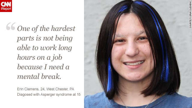 <a href='http://ireport.cnn.com/docs/DOC-1134982'>Learn more about Erin's story</a> on iReport