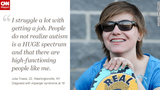 <a href='http://ireport.cnn.com/docs/DOC-770089'>Learn more about Julia's story</a> on iReport.