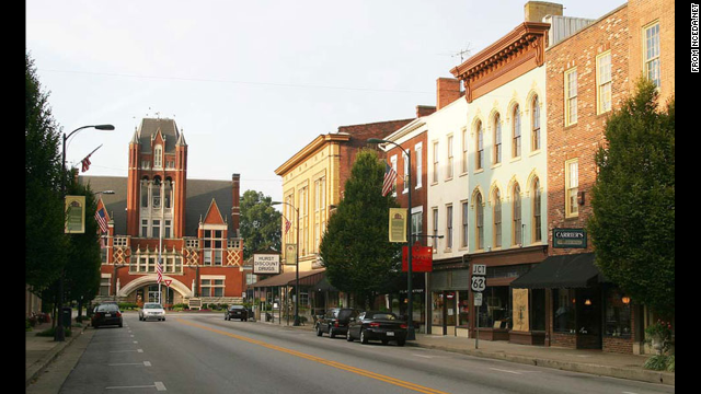 Bourbon Is The Star Of Bardstown In Center Kentucky Trademarked
