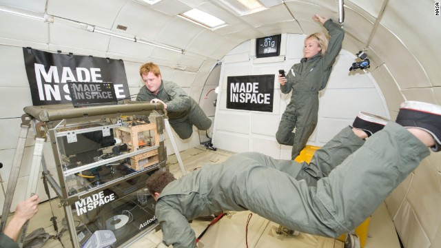 Could astronauts journey to another planet and <a href='http://edition.cnn.com/TECH/specials/make-create-innovate/3d-printing/' target='_blank'>3D print</a> their own houses? While that scenario is a long way off, scientists are investigating if zero gravity affects the tech, which could be used in the future for in-space manufacturing. Here, a 3D printer is tested in the Microgravity Science Glovebox Engineering Unit at Marshall Space Flight Center, Alabama, <a href='http://www.madeinspace.us/3d-printer-headed-space-station-ready-launch' target='_blank'>prior to being taken to the ISS</a>.