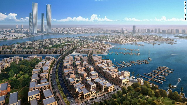Lusail is a planned city being built from scratch along the Persian Gulf in Qatar. Expected to be completed in 2019, it will be packed with technologically advanced features.