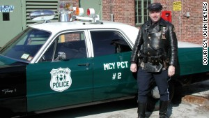 John Meyers was a first-responder with the New York police in September 2001.