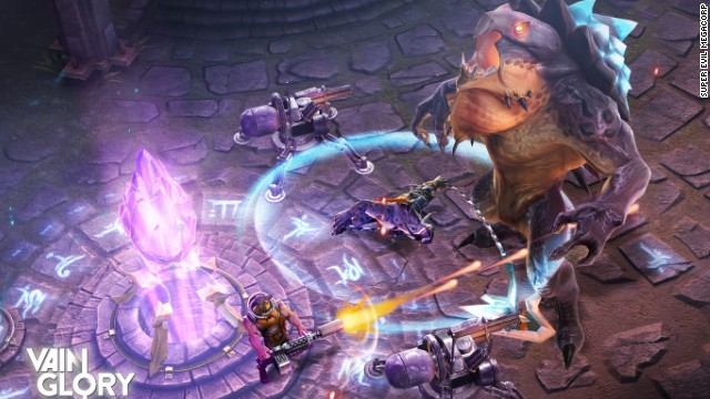 While initally only for iPad, Vainglory, with its massively multiplayer gameplay designed specifically for touchscreens, will be a natural on the sizable iPhone 6 Plus when it rolls out. In fact, Apple used the forthcoming game to demo the iPhone 6's graphical capabilities at the rollout earlier this month. It will begin its rollout in October in southeast Asia, New Zealand and Australia and is expected to be available globally by December.