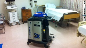 A sterile hospital is no small matter for patients and health care professionals.