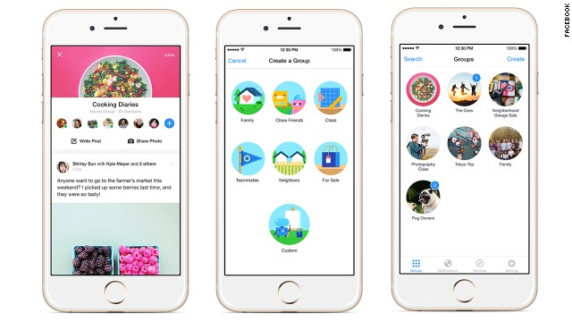 Facebook is launching a new free iOS and Android app just for checking and posting to groups.