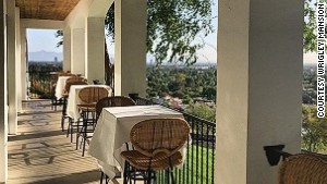 Wrigley Mansion: Sonora postre.
