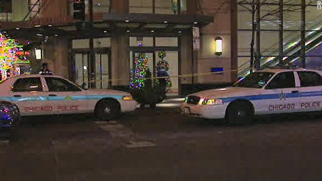 Police investigate after a shooting at a Chicago Nordstrom store left one man dead and one woman in critical condition.