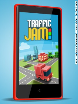 Gamsole's Traffic Jam game for Windows phones. The Nigerian startup is the poster child for African game developers -- their games have been downloaded nine million times globally since launch.