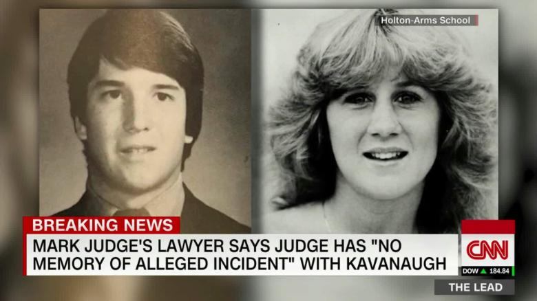Image result for photos of mark judge and kavanaugh