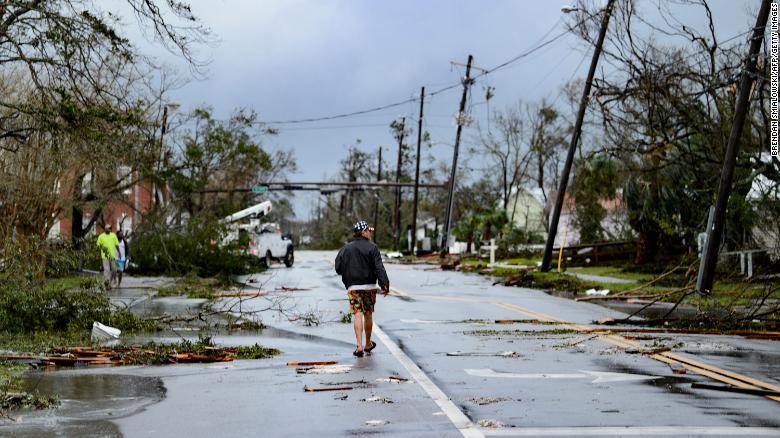 Watch This Video Hurricane Michael Slams Florida