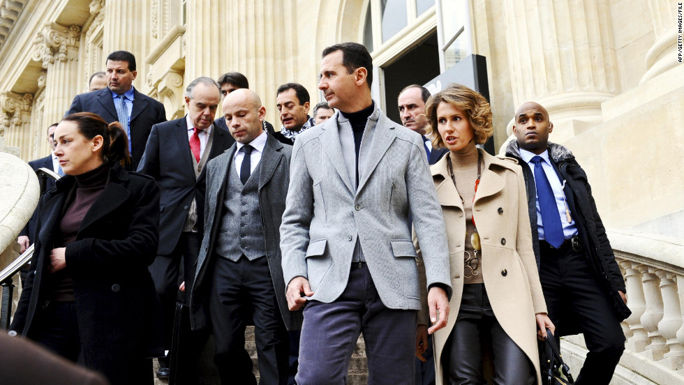 Will Asma al-Assad take a stand or stand by her man? - CNN.com