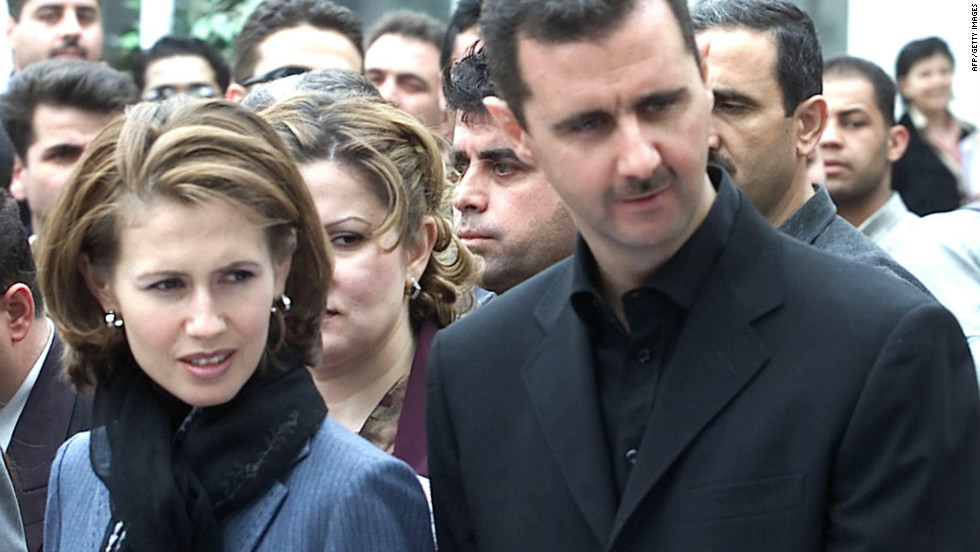 Syria's Assad family through the years