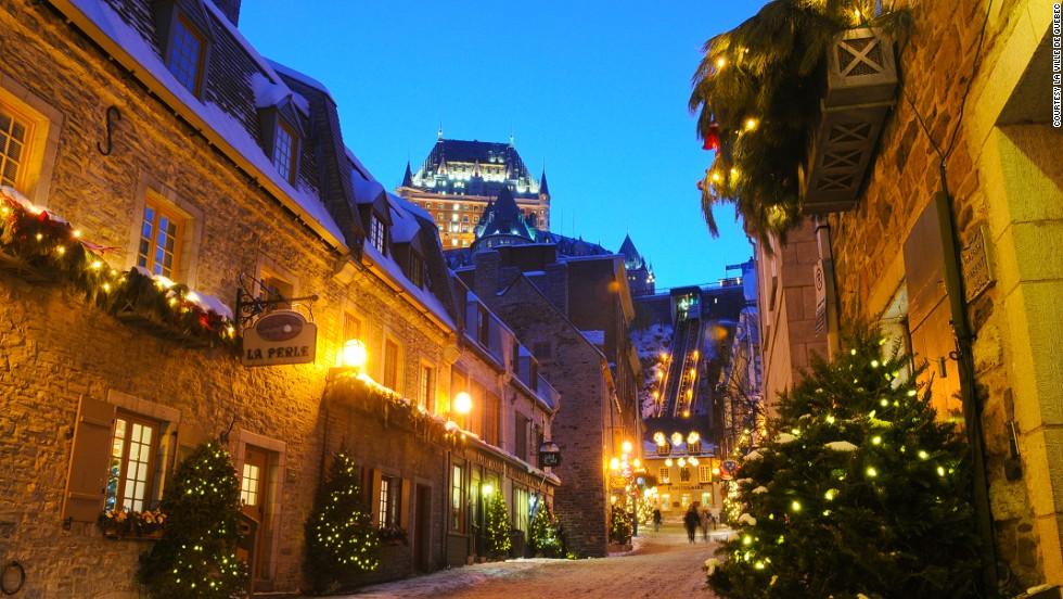 Quebec brings ye olde European Christmas charm to 21st century North America.