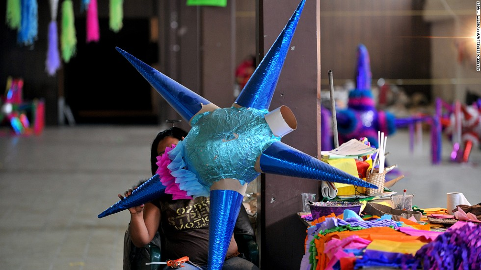 Piñatas, posadas and ponche sum up the festivities in the colorful Mexican city of San Miguel de Allende, where Christmas is both a solemn and celebratory affair.