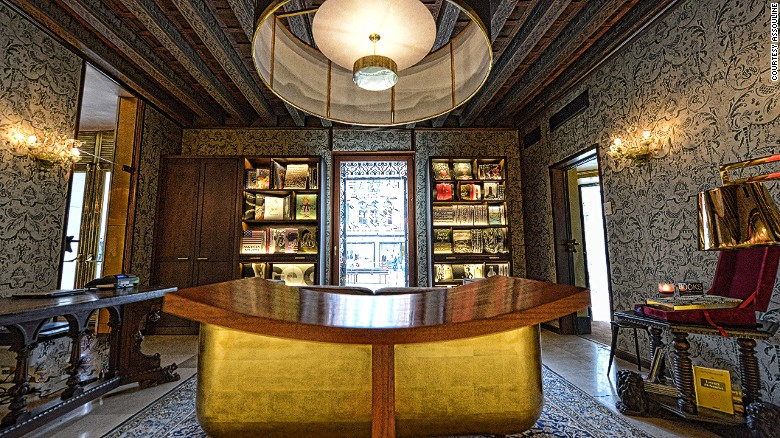 Luxury publisher Assouline's opened a store last year in an old palazzo in Venice.