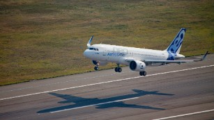 The super-efficient Airbus A320neo is expected to begin service in 2016.