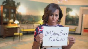 #BringBackOurGirls one year on