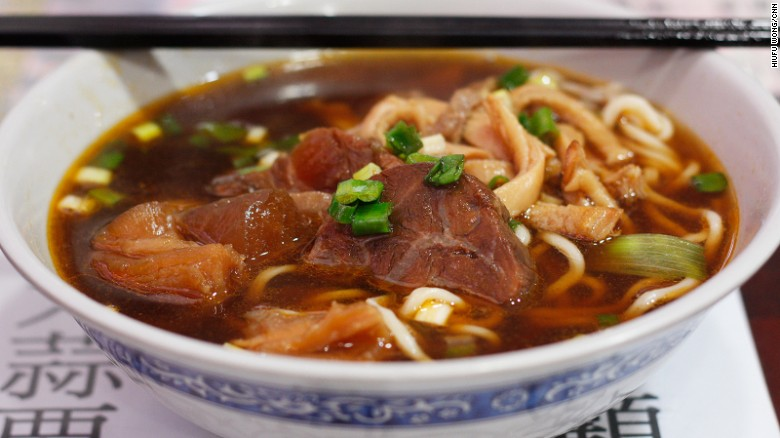 "You know a food is an obsession when it gets its own festival. Beef noodle soup inspires competitiveness and innovation in Taiwanese chefs. Everyone wants to claim the ""beef noodle king"" title."