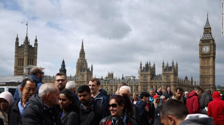 เป็นที่รู้จักสำหรับท้องฟ้าที่มีเมฆและประวัติศาสตร์อันยาวนานลอนดอนมียอดมาสเตอร์การ์ดทั่วโลกปลายทางดัชนีเมืองห้าของเจ็ดปีที่ผ่านมา  เมืองนี้เป็นที่คาดหวังว่าจะได้ต้อนรับ 18,820,000 นักท่องเที่ยวจากต่างประเทศในปี 2015