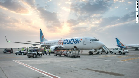 FlyDubai connects 12 African cities via the Gulf.