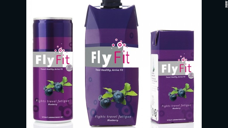 Nutrition for travel is an expanding field. Flyfit drinks, which claim to regulate blood pressure, is now available at 50 airports worldwide.