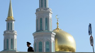 A new spire for the Moscow skyline.