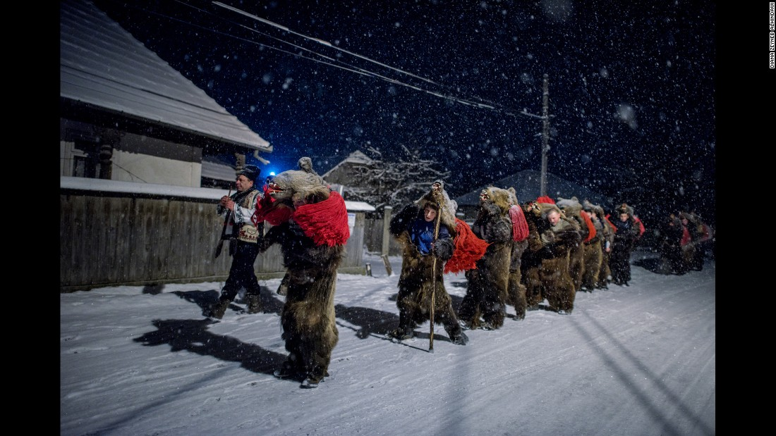 While the tradition originated with the Roma, Alhindawi says they've since been priced out of the practice. A ban on bear hunting means bearskins now fetch up to €2,000, and most Gypsies have sold theirs.