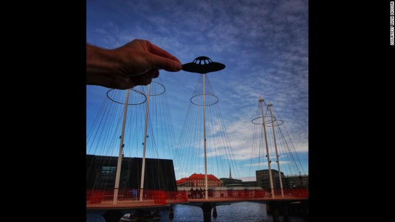 McCor shot this one of Copenhagen's landmark Cirkelbroen bridge for Lonely Planet, which sponsored part of a trip around Europe.