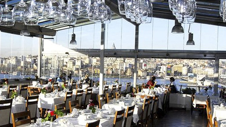Hamdi Restaurant In Istanbul Offers Extraordinary Views Of The Golden Horn Specializing Southeastern Cuisines