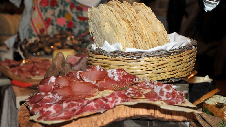 Orgosolo: Land of pork and honey.