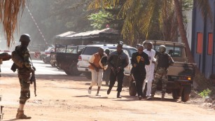 Mali hotel attack: At least 10 dead; attackers still inside, army says