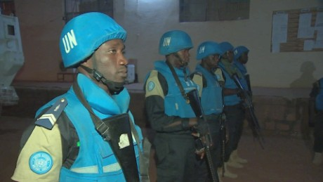 U.N. peacekeepers in Mali.