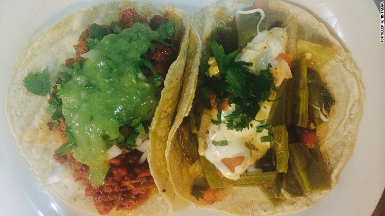 You'll have to hop over to Queens for the chorizo and nopal tacos at Tortilleria Nixtamal, but if you're in New York you should check out Queens anyway.