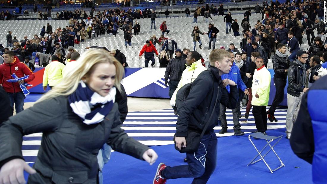Year in Photos 2015 - Paris Attacks November 13, 2015